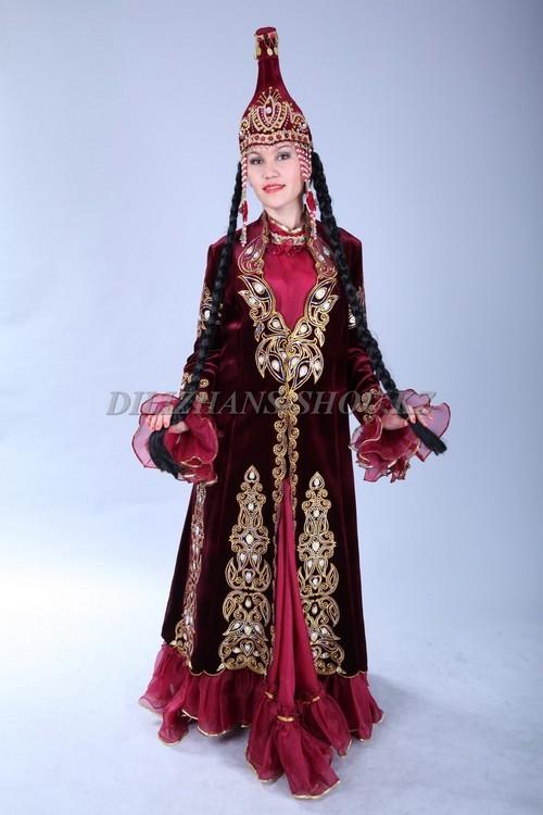 Казаский нацанальные костюмы