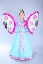 02475 Корейский национальный женский костюм