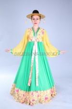 02472 Корейский национальный женский костюм