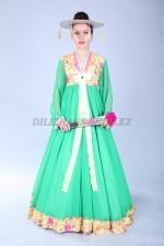 02474 Корейский национальный женский костюм