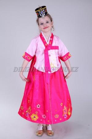 Корейский костюм ханбок «Hong01»