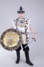 0027. Казахский (батыр в серебре с мехом 1)