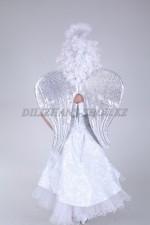 00083 Крылья ангела серебристые