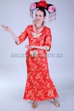 02448 Китайский женский национальный костюм