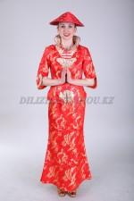 02447 Китайский женский национальный костюм