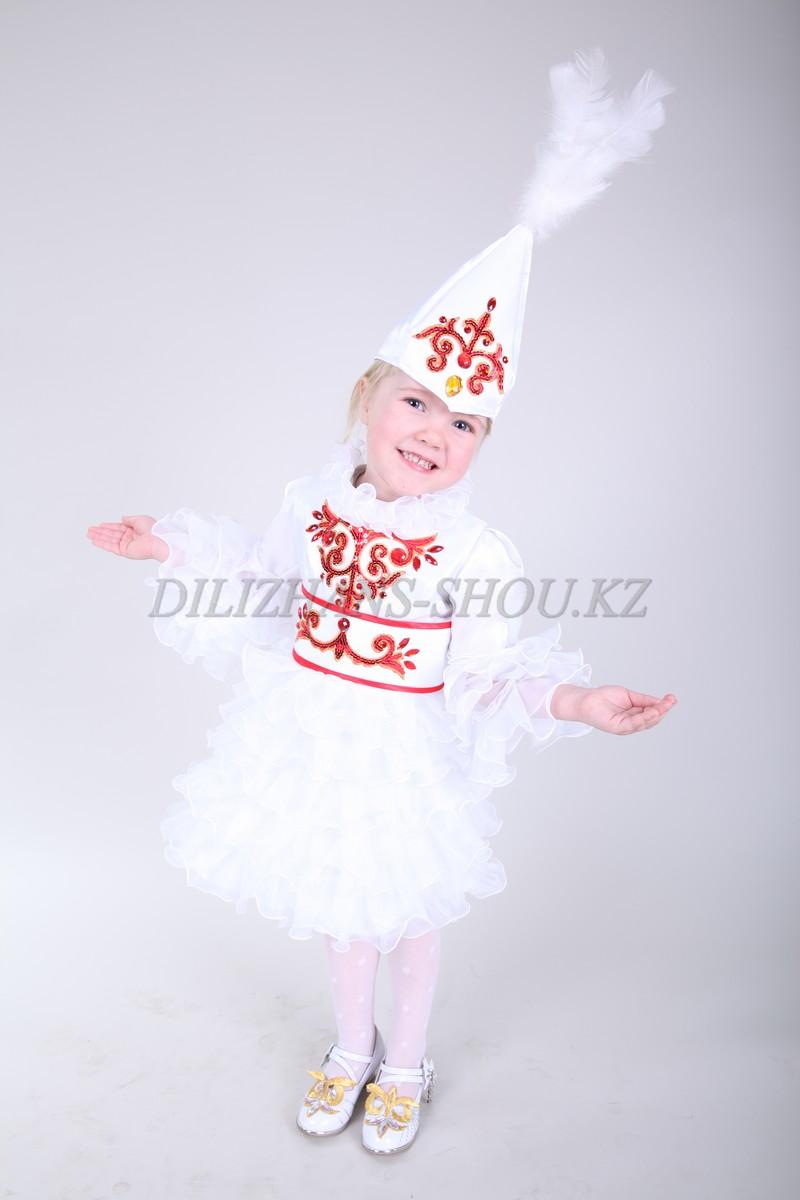 Казахские костюмы для девочек сшить своими руками 54