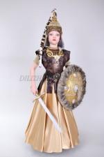 0115. Казахский подростковый костюм Томирис