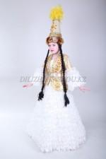 Казахский национальный костюм 012