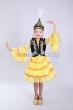 Казахский национальный костюм 01