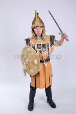 казахский стилизованный костюм батыра