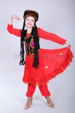 0225. Уйгурский (красный)