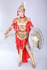02100 Казахский стилизованный костюм Томирис