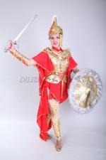 02099 Казахский стилизованный костюм Томирис