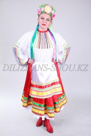 02311 Украинский народный женский костюм