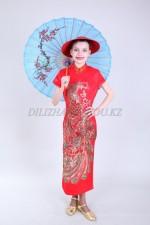 02435 Китайский женский национальный костюм
