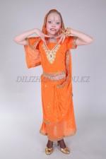 0267. Индийский (Сари оранжевое)