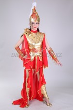 02101 Казахский стилизованный костюм Томирис