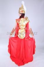 2059. Казахский стилизованный костюм Томирис