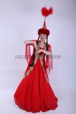 02121 Казахский национальный костюм
