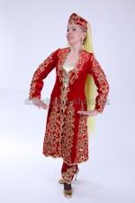2165 таджикский национальный костюм женский