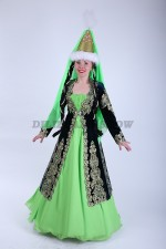02122 Казахский национальный женский костюм