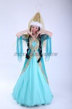 02123 Казахский национальный женский костюм