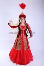 02124 Казахский национальный костюм