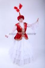 02125 Казахский национальный костюм