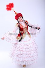 02127 Казахский национальный костюм