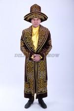 02089 Казахский национальный чапан