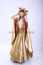 01951 Мисс Осень в золотом плаще