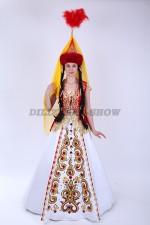02840 Казахский национальный костюм