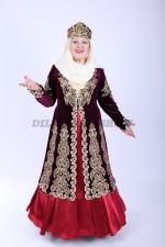 02120 Женский казахский национальный костюм