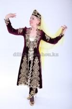 2166 таджикский национальный костюм женский