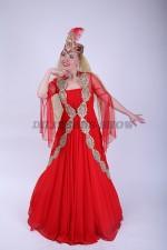 02238 Уйгурский национальный костюм женский