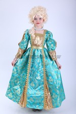 33430. Королева в бирюзовом платье