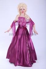 33434. Принцесса в фиолетовом наряде
