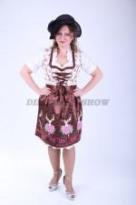 33467. Женский немецкий национальный костюм