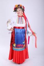02308 Украинский народный костюм большого размера