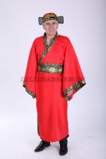 02427 Древняя китайская одежда для мужчин