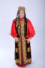 02202 Таджикский костюм с длинным камзолом