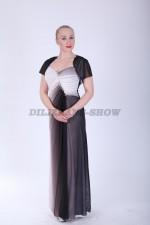 33568. Платье Эрика в сером