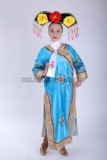 33590. Китайское традиционное платье с галстуком