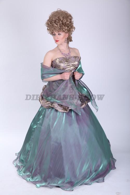 mohito платье с воланом