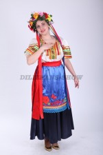 02310 Украинский народный женский костюм