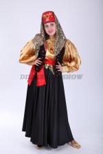 02499 Турецкий народный костюм с чёрной жилеткой