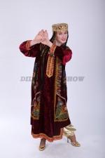 02203 Таджикский народный костюм