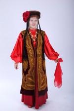 02227 Уйгурский народный большого размера
