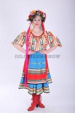 02309 Украинский народный женский костюм