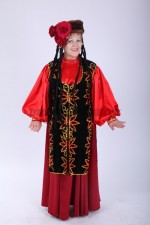 33625. Фатима - уйгурский женский костюм большого размера